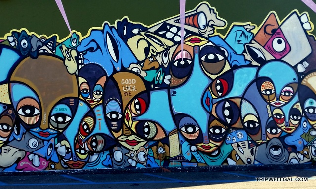 The most recent mural outside of Wrench and Rodent on South Pacific Highway near Cassidy.