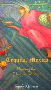 Mural 3 inside Cuervo Mundo on the Tequila Trail