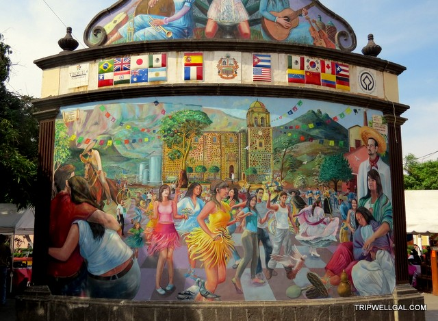 Mural art waits on the Tequila Trail