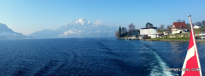 Swiss Boat Trip – Cruising Lake Lucerne