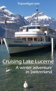 Cruising Lake Lucerne pin boat ride too.