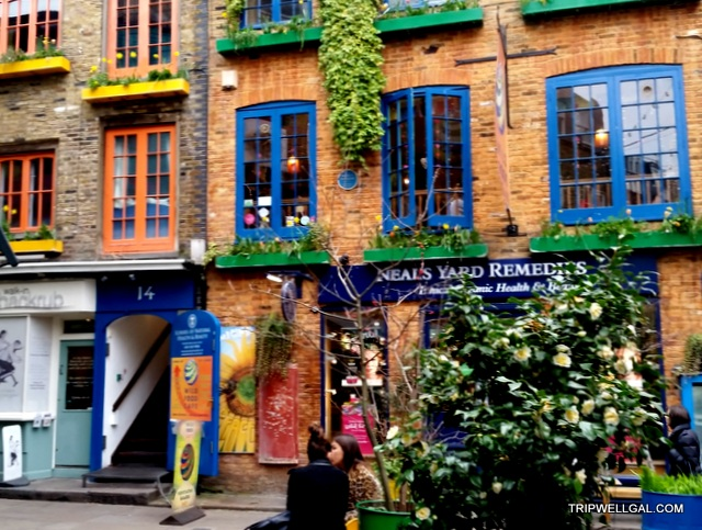 Neal's Yard in London is one of the fun places to visit