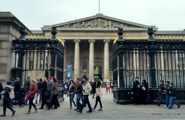 British Museum Gate