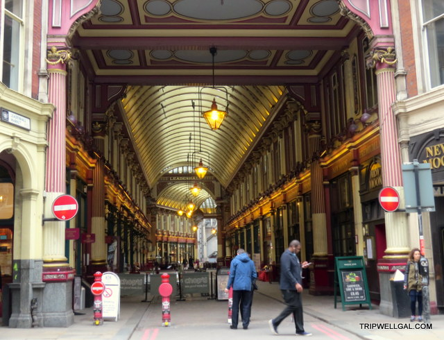 Leadenhall Market is a fun place to visit in London