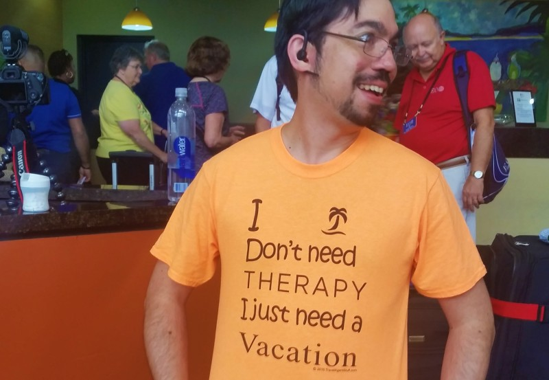 Therapy vacation on cruise holidays