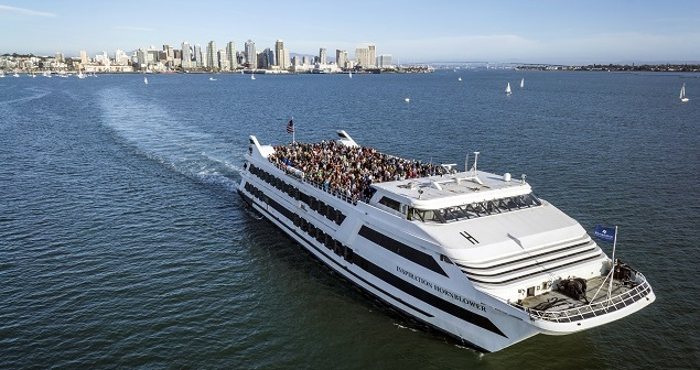 Sunday brunch, the bay and bubbly with Hornblower San Diego