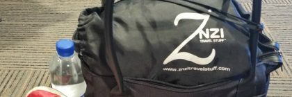 znzi travel pillow on the go