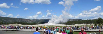Yellowstone Park holds many natural wonders, like Old Faithful