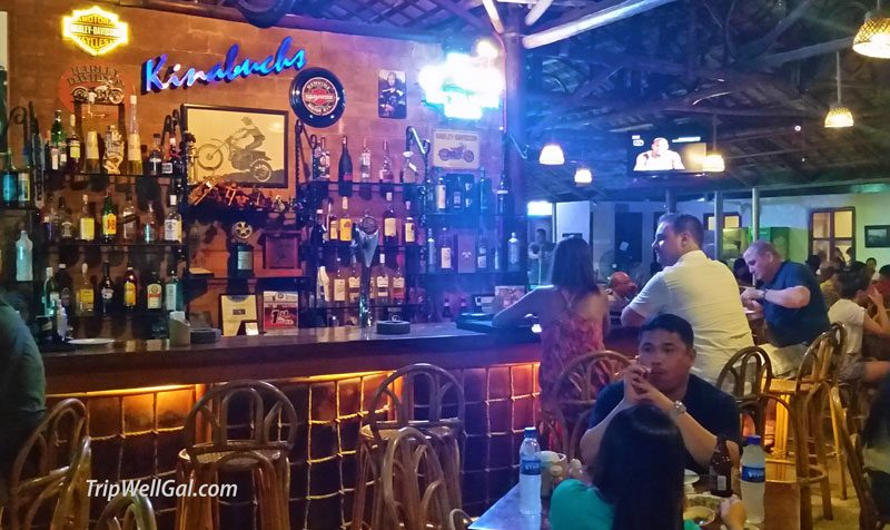 The bar in Kinabuch's