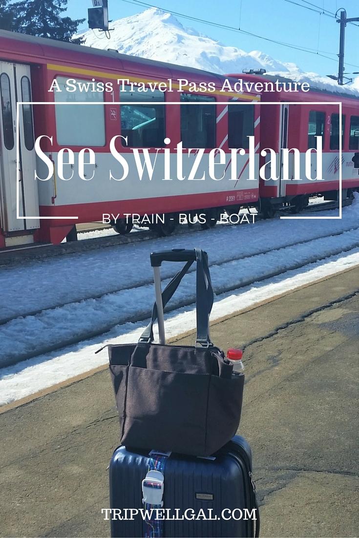 See Switzerland Pin Swiss Pass post