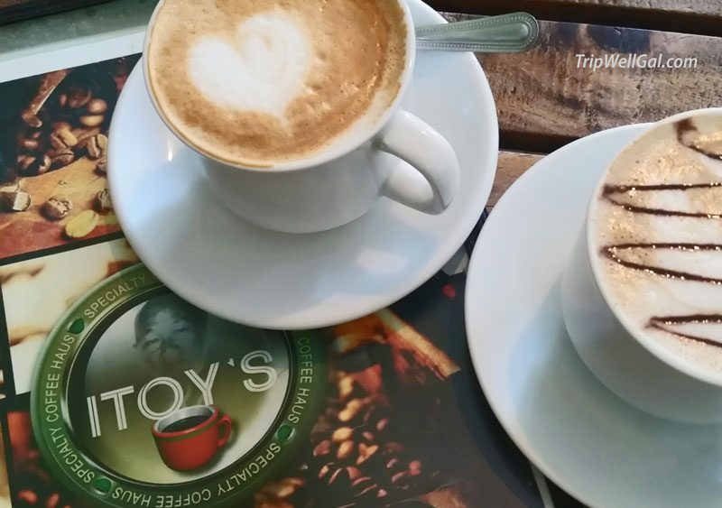 Coffee and Internet at iToys in Puerto Princesa