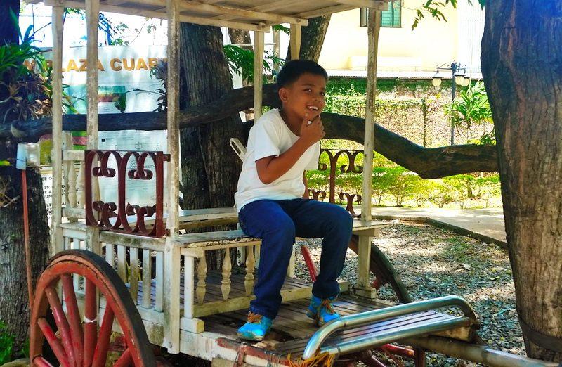 Boy in Plaza Cuartel