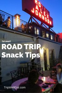 Road trip snack ideas include happy hours