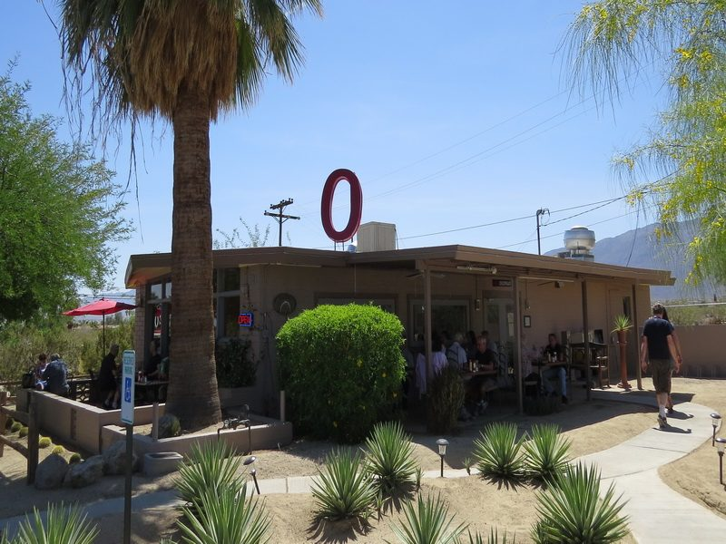 Ocotillo Restaurant in Borrego Hot Springs