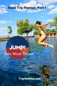 Junp into adventure in West Texas with a stop at Balmorea Springs