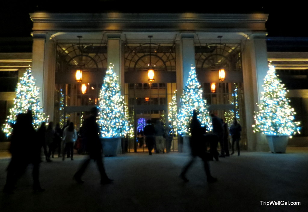 Longwood Gardens – Winter lights and bright nights