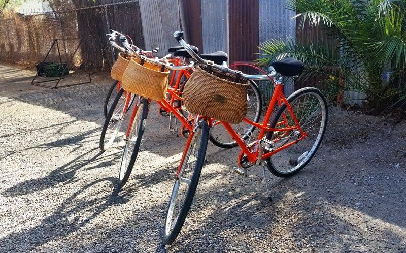 Bikes ready for our Tucson bike tour