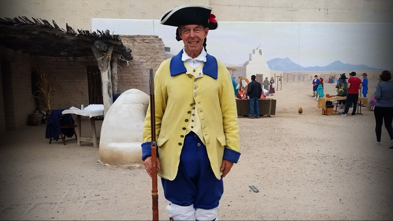 Soldier from Living History day in Tucson