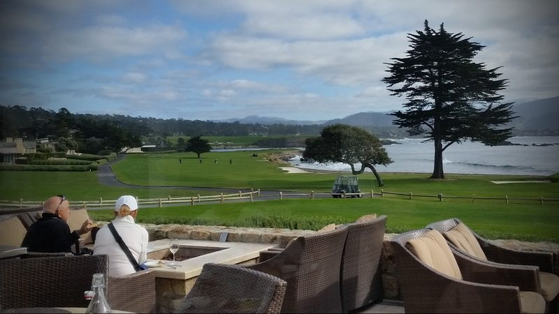 Pebble Beach Golf Resort greeen.