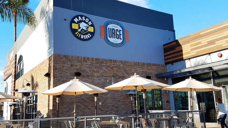 Urge gastropub is one of the best places to eat in Oceanside