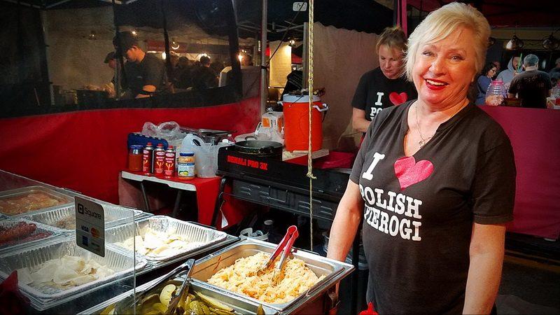 Alicja Miechowski of Taste of Poland at the Sunset Market