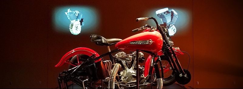The beauty of the beast inside the Harley Davidson Museum