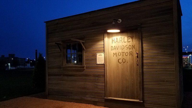 Harley Davidson shed