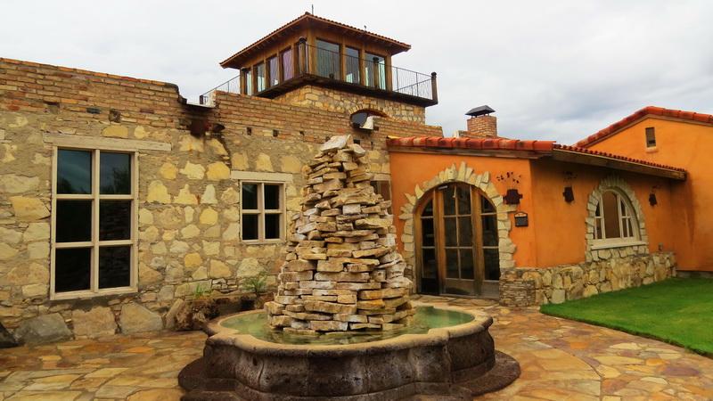 ocotillo event space in Lajitas resort