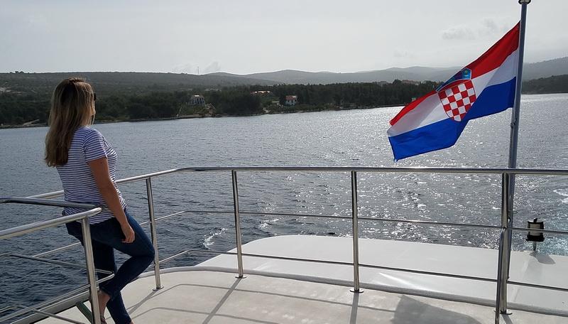 A muse cruising Croatia with Katarina Line