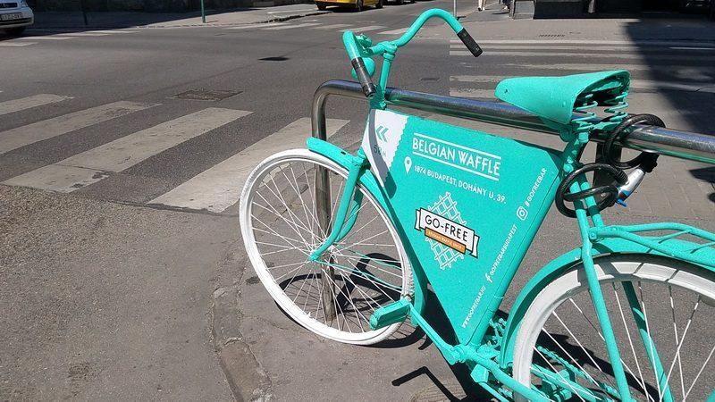 Biking in Budapest