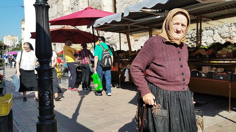 Weekday market in Kosice is one of the things to do