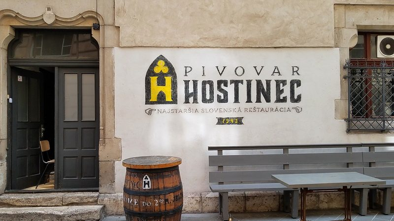 The old bar, Hostinec in Kosice