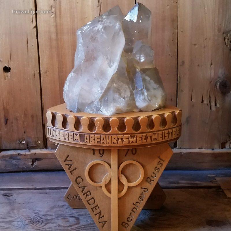 The award-winning Andermatt Crystal