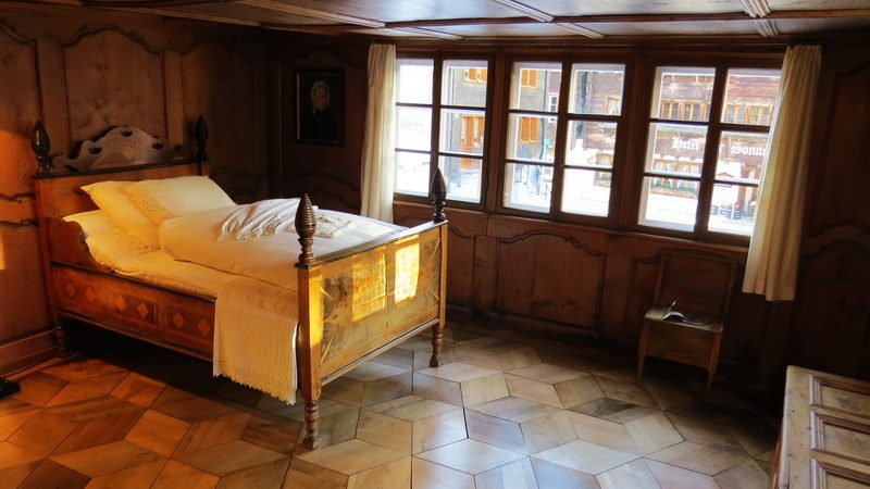 Inside the Talmuseum in Andermatt