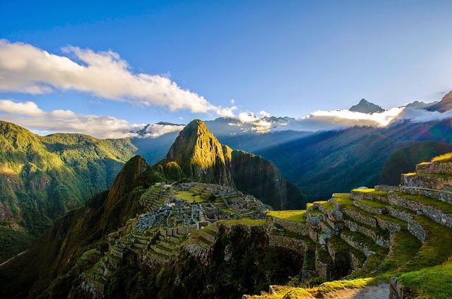Machu Picchu visitors escape summer heat easily