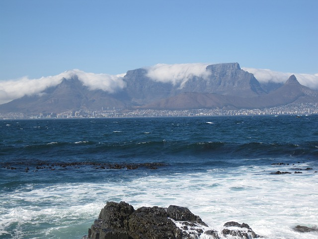 Cape Town, South Africa, has a great climate to escape summer heat