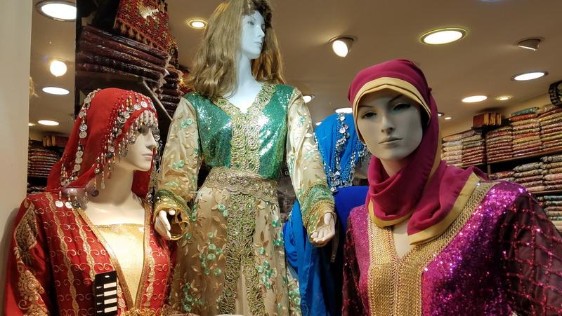 Shop styles in downtown Amman