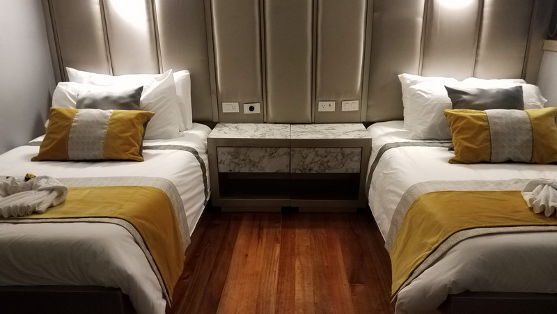 Double cabin on the Sea Star