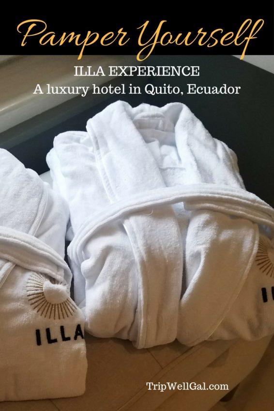 Luxury awaits inside the Illa Hotel in Quito, Ecuador