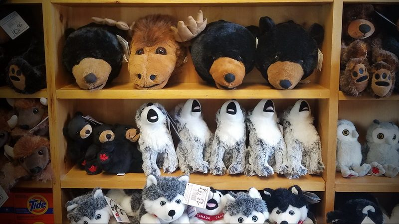 Toys in the Ferme 5 Etoiles gift shop