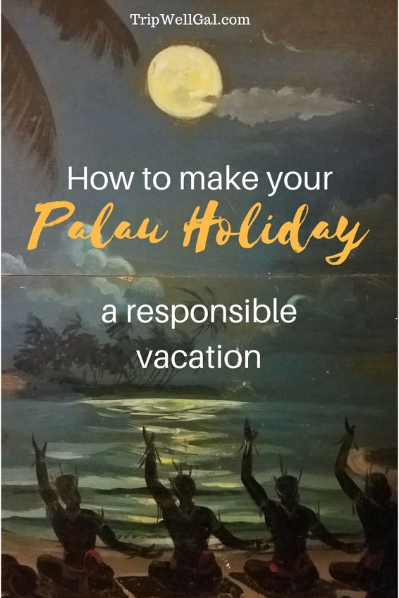 how to make your palua holiday a responsible vacation