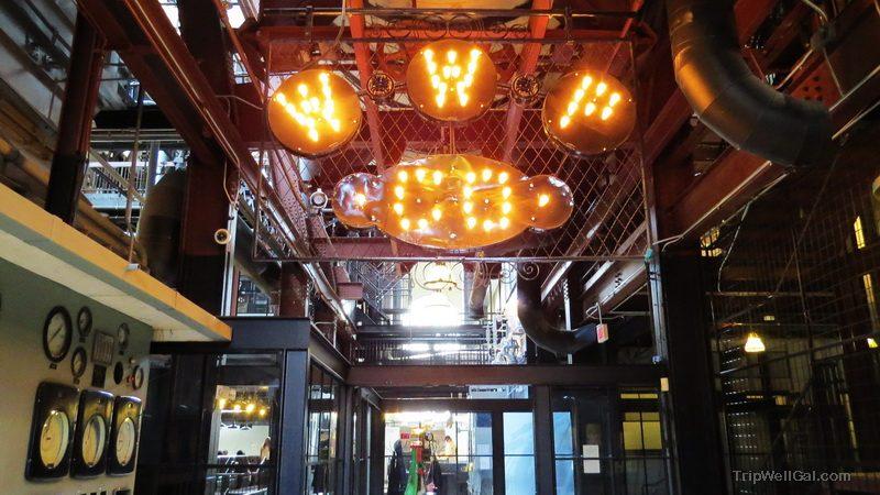 Glimpse inside the Steam Plant retro revival in downtown Spokane Washington