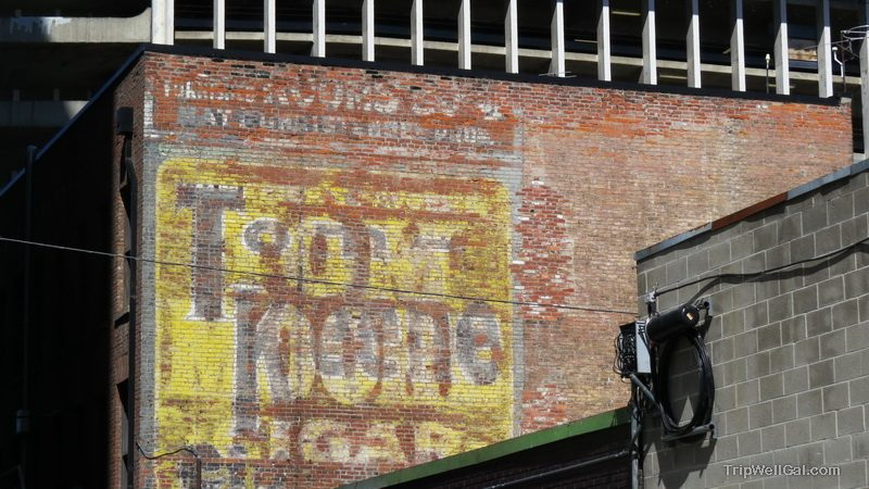 Downtown Spokane Washington Ghost sign