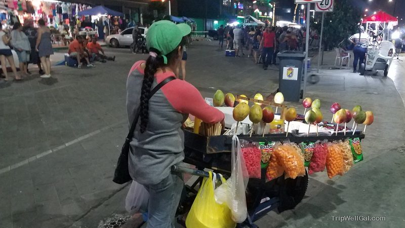 Malecon vendor San Felipe