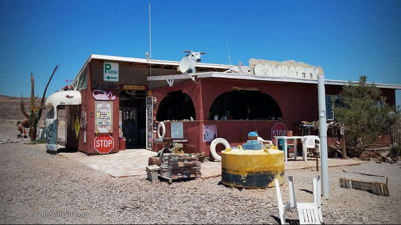 The Cow Patty Bar south of San Felipe