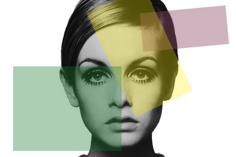 The first super model, Twiggy