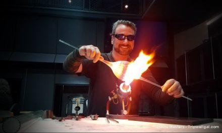 Hot fun in New York's Corning Glass Museum
