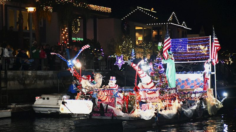 Grand Prize winner in the Naples Boat Parade 2018