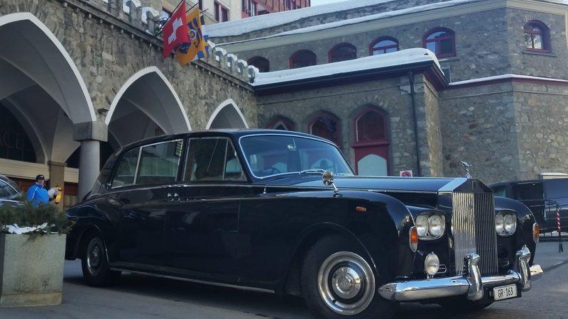 Bentley in St. Moritz