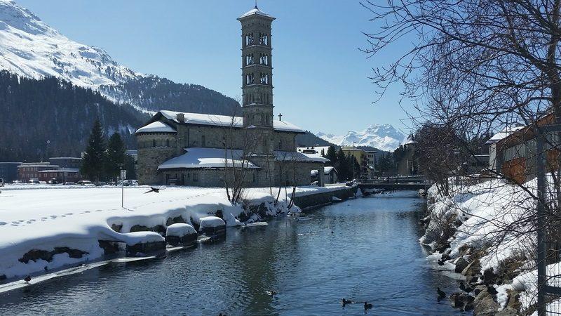 River view St. Moritz